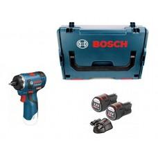 Κατσαβίδι Παλμικό 10.8V - 12V BOSCH GSR 12V-20HX Professional σε L-Boxx + Φορτιστής GAL1230 CV + 2 Mπαταρίες 12V - 3.0Ah