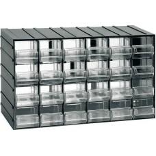 Κουτί αποθήκευσης (Συρταροθήκη) με 24 διάφανα συρτάρια ARTPLAST 611 (610104) Αποθήκευση - Τακτοποίηση