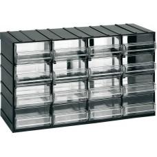 Κουτί αποθήκευσης (Συρταροθήκη) με 16 διάφανα συρτάρια ARTPLAST 612 (610105) Αποθήκευση - Τακτοποίηση