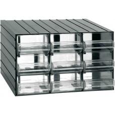 Κουτί αποθήκευσης (Συρταροθήκη) με 9 διάφανα συρτάρια ARTPLAST 701 (610110) Αποθήκευση - Τακτοποίηση