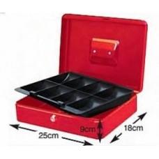 Κουτί Ταμείου Μεταλλικό Κόκκινο UNIMAC CB-Μ8 631314 Αποθήκευση - Τακτοποίηση