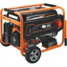 Ηλεκτρογεννήτρια βενζίνης Τριφασική (400V) με μίζα 7.000W KRAFT LT-9000-3 (63736) Γεννήτριες Βενζίνης