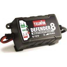 Ηλεκτρονικός Φορτιστής - Συντηρητής 6/12V DEFENDER 8 TELWIN 807553 Φορτιστές - Συντηρητές