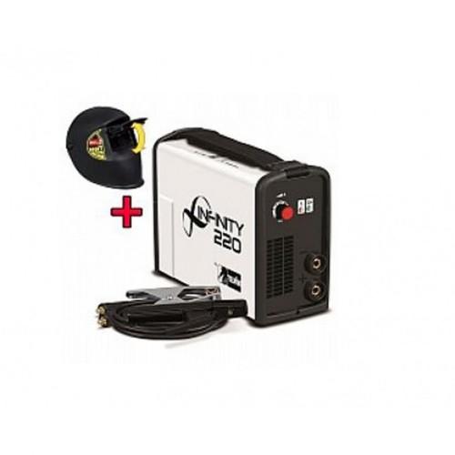 Hλεκτροσυγκόλληση Inverter INFINITY 220 TELWIN + Μάσκα Κεφαλής 816082  Ηλεκτροσυγκολλήσεις Inverter Ηλεκτροδίου