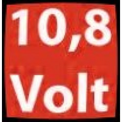 10.8V