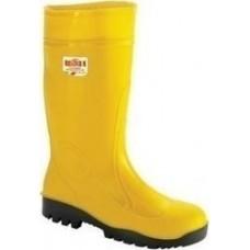 Γαλότσες γονάτου ασφαλείας κίτρινες ISSA line S5 Αδιάβροχα - Γαλότσες
