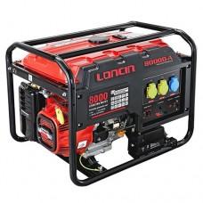 Ηλεκτρογεννήτρια βενζίνης LONCIN LC8000-DA (12HP) ΓΕΝΝΗΤΡΙΕΣ ΒΕΝΖΙΝΗΣ