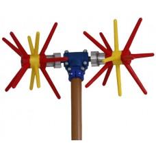Ελαιοραβδιστικό ρεύματος παλμικό με 2 κεφαλές-αχινός (ΤΑΦ) ΕΛΑΙΟΡΑΒΔΙΣΤΙΚΑ ΡΕΥΜΑΤΟΣ - ΑΕΡΟΣ