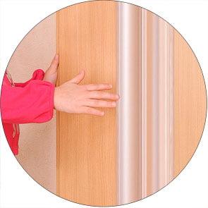 Προστατευτικό χεριών για τα διάκενα των θυρών